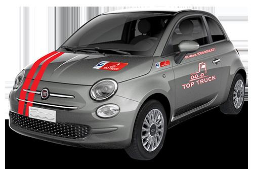 FIAT 500 HYBRID SERIE 8 TOP TRUCK