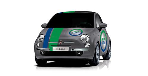 FIAT 500 MON GARAGE